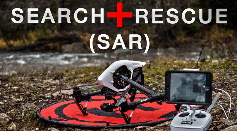 the thermal advantage search and rescue drones with flir infrared